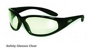 Safety Glasses Clear Tint