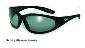 Safety Glasses Smoke Tint